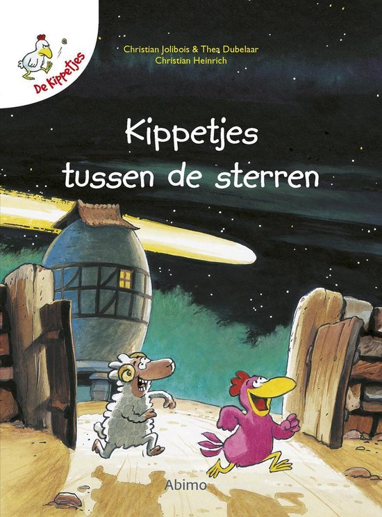 Boek cover Kinderboeken avi boek De kippetjes van Christian Jolibois (Hardcover)
