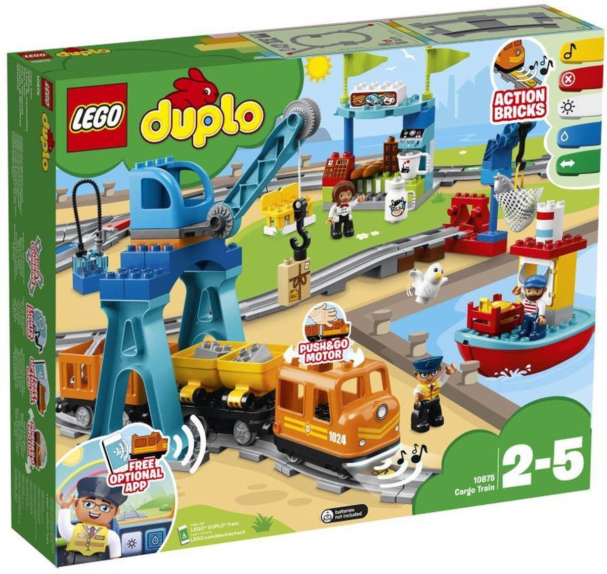 LEGO DUPLO Goederentrein (10875)