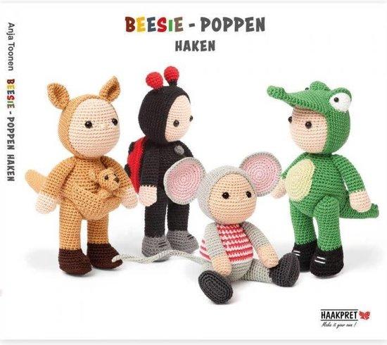 Boek cover Beesie-poppen haken - Anja Toonen van Anja Toonen (Onbekend)