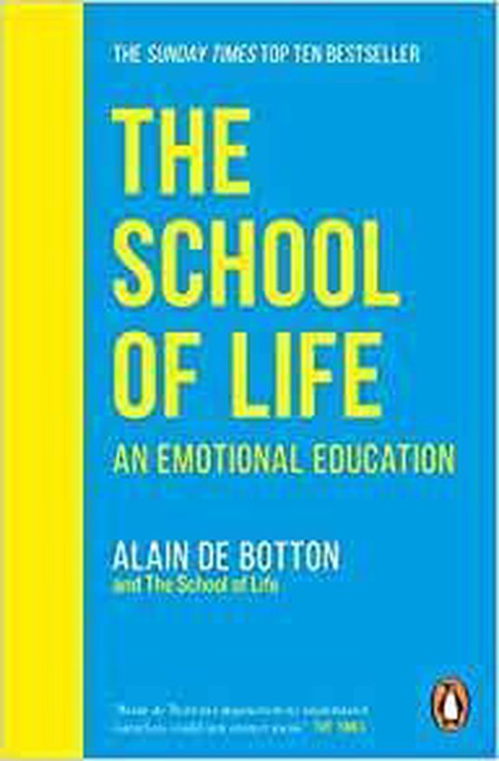 Boek cover The School of Life van Alain de Botton (Paperback)