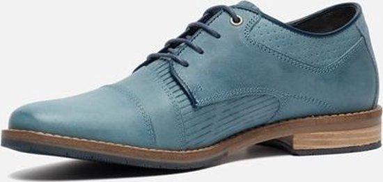 Vertice Veterschoenen blauw - Maat 44