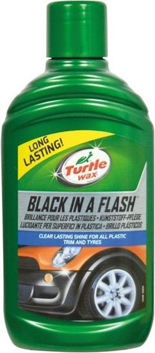 Turtle Wax Black in a Flash Autowax - 300ml