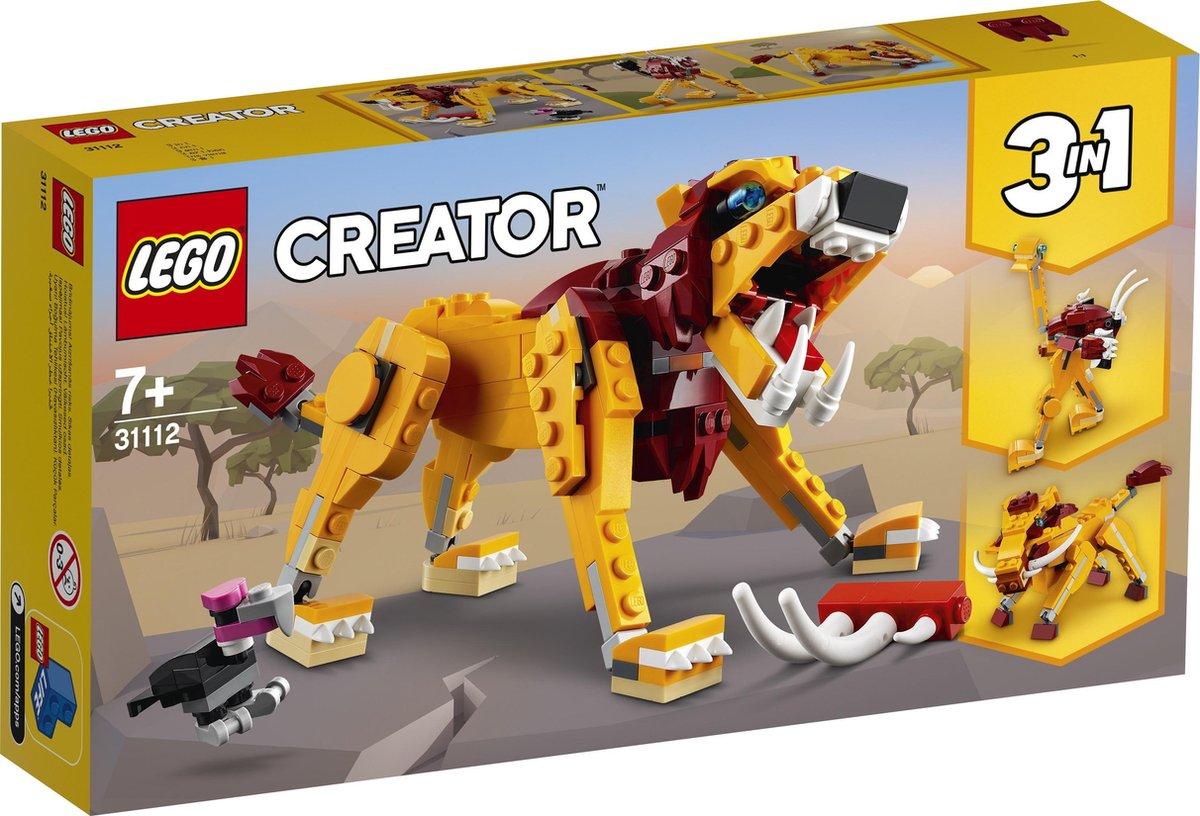 LEGO Creator Wilde Leeuw - 31112