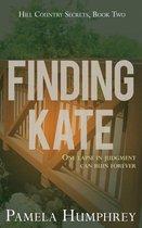 Omslag Finding Kate
