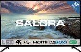 Salora 43UHL2800 - Televisie- 4K - LED - 43 inch - HDMI- USB - Zuinig - DVB-C/T2/S2