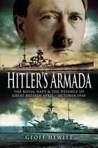 Boek cover Hitlers Armada van Geoff Hewitt