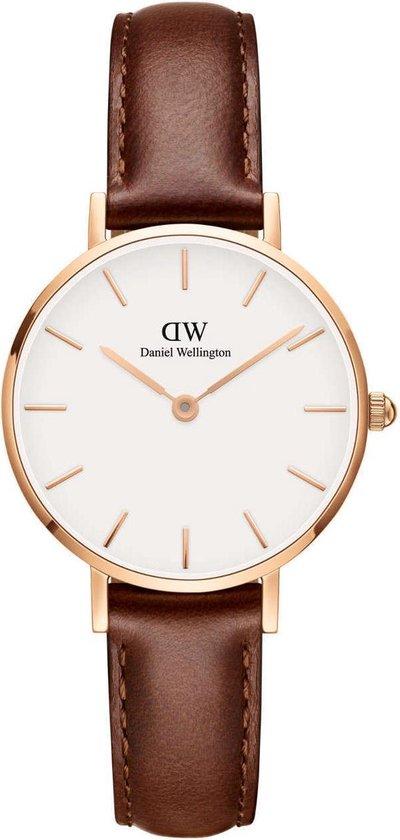 Daniel Wellington Petite St. Mawes horloge (28 mm) – Bruin