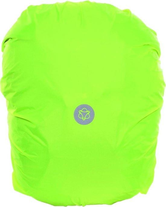 AGU Essentials Regenhoes Fietstas - Maat L - Neon geel
