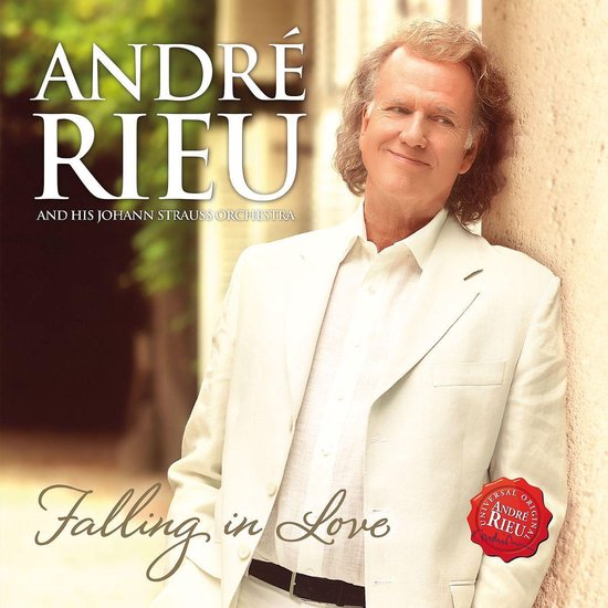 CD cover van Falling In Love van Rieu, André