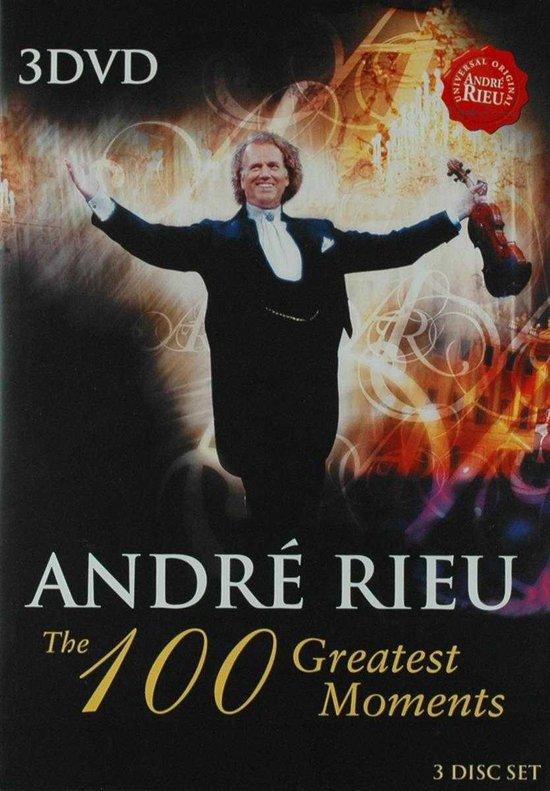 Cover van de film 'Andre Rieu - 100 Greatest Moments'