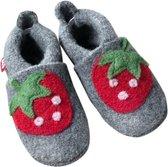 Pololo babyslofjes wol Erdbeere