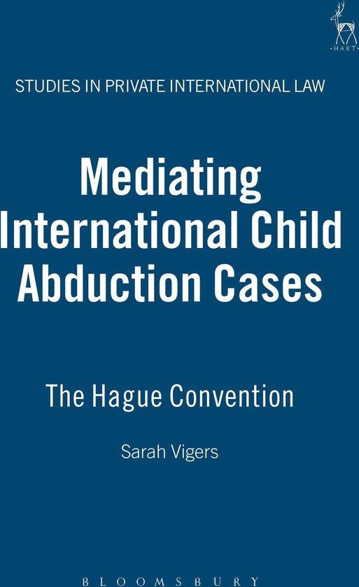 Omslag van Mediating International Child Abduction Cases