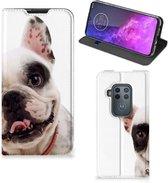 Motorola One Zoom Hoesje maken Franse Bulldog