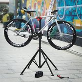 | Sterke Fiets montagestandaard met gereedschapsbakje | 360° Draaibare / Verstelbare reparatie standaard | Universele fietsstandaard | Lichtgewicht en eenvoudig draagbaar.