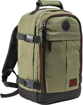 CabinMax Metz – Handbagage 20L – Rugzak – Schooltas - 40x25x20 cm – Compact Reistas – Lichtgewicht – Khaki