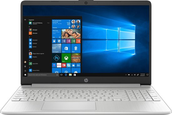 "HP 15s-fq1442nd Notebook Zilver 39,6 cm (15.6"") 1920 x 1080 Pixels Intel® 10de generatie Core™ i5 8 GB DDR4-SDRAM 512 GB SSD Wi-Fi 5 (802.11ac) Windows 10 Home"