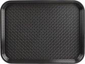 Kristallon dienblad plastic 305 x 415mm zwart