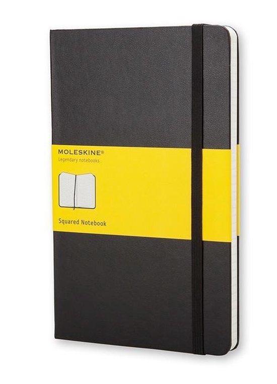 Cover van het boek 'Moleskine Classic Notebook - Squared'