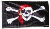 PartyXplosion - Vlag - Piraat - 90x150cm