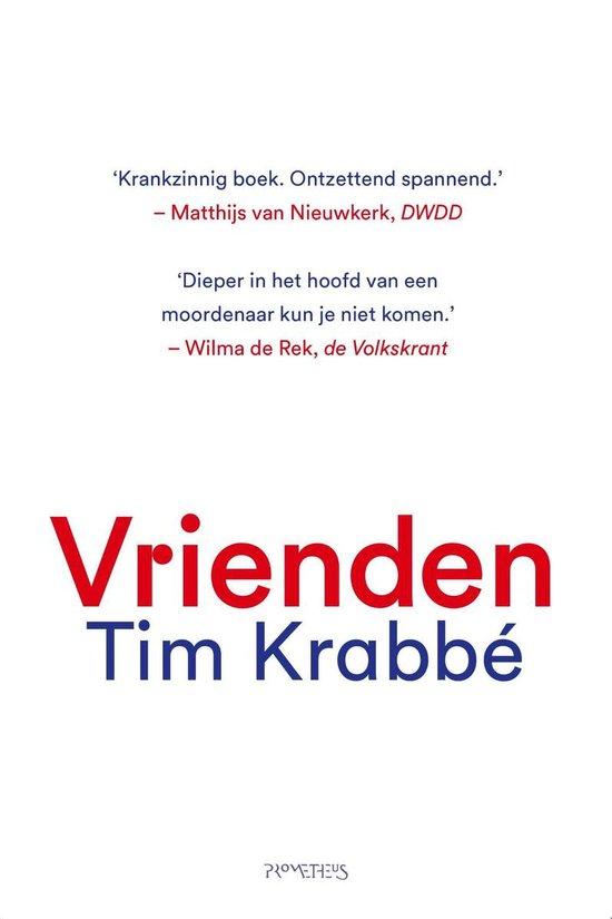 Boek cover Vrienden van Tim Krabbé (Onbekend)