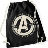 Marvel The Avengers Gymtas/Rugtas Initiative Zwart