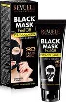 Revuele Black Mask Peel Off - Pro Collagen 80ml.