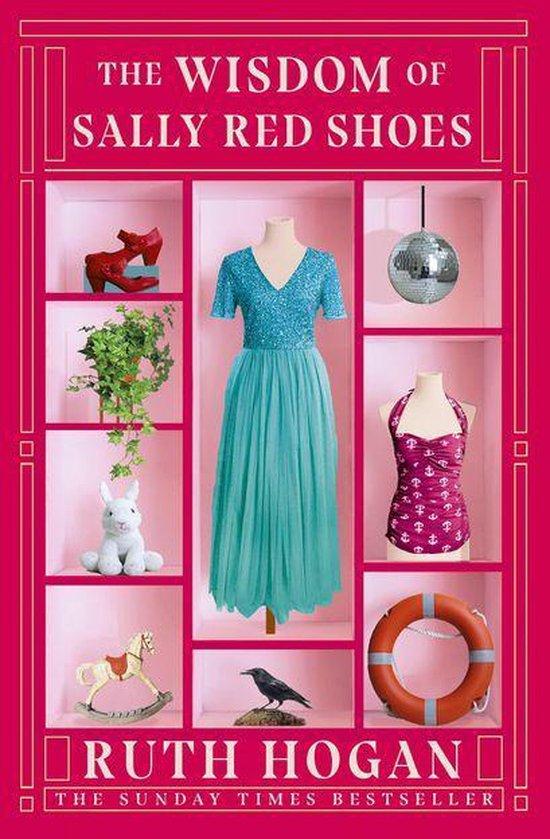 Boek cover The Wisdom of Sally Red Shoes van Ruth Hogan (Onbekend)