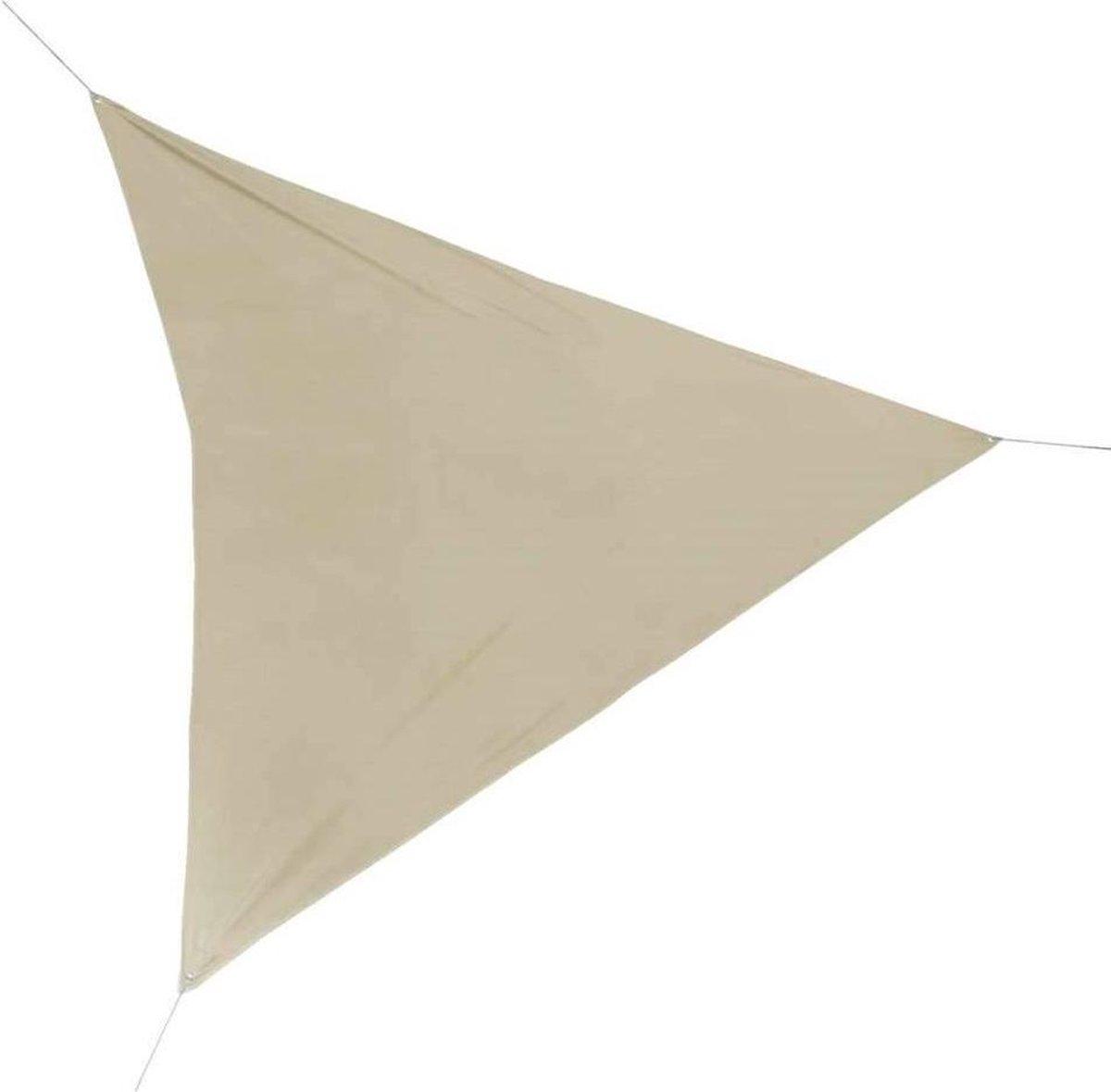 Schaduwdoek -Driehoek - zandkleur