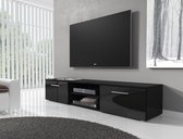 TV-meubel Basura I - Zwart - 160 cm