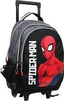 Arditex Trolleyrugzak Spider-man Jongens 46 X 32 Cm Polyester Zwart