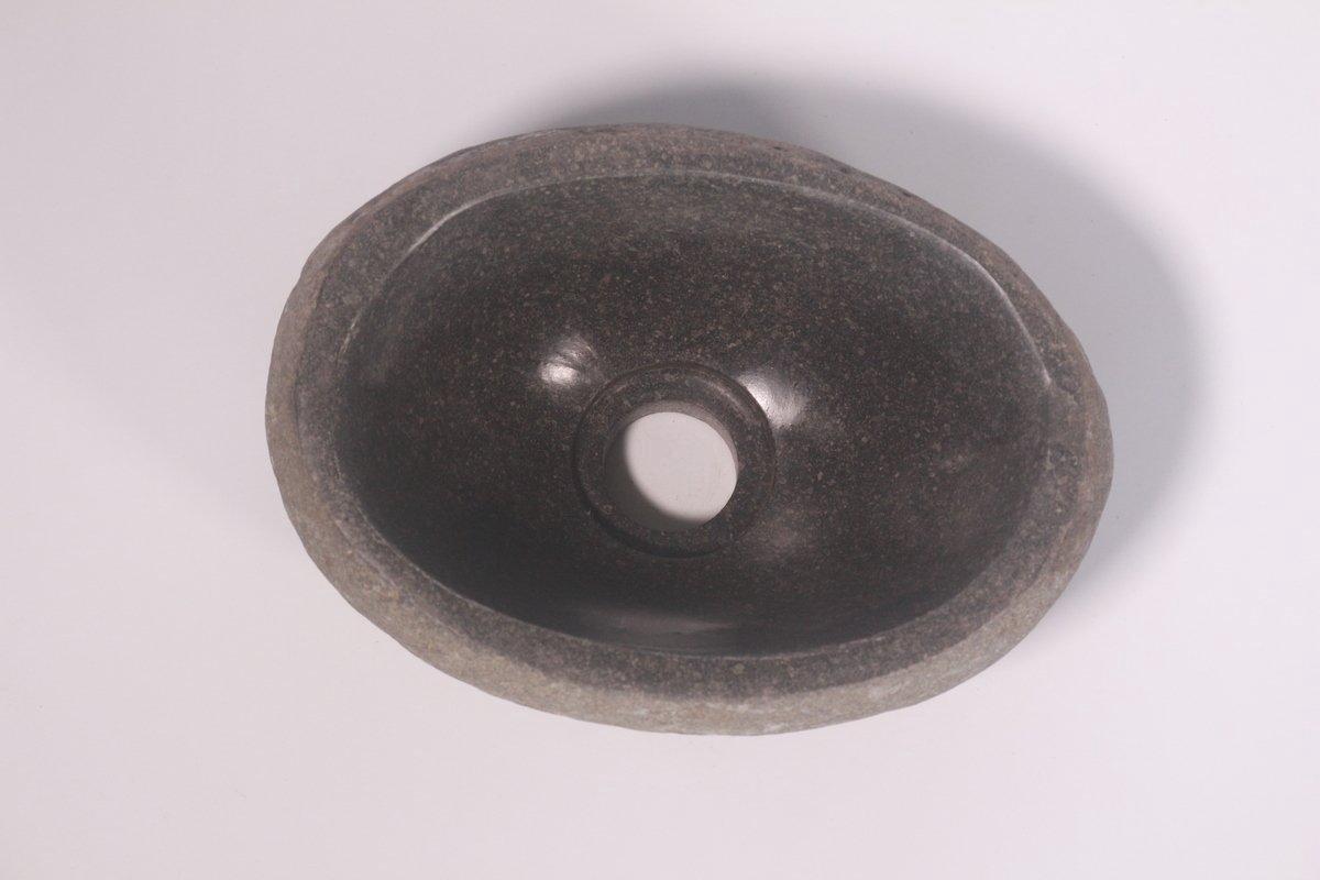 Natuurstenen waskom | DEVI-W21-245 | 26x18x12