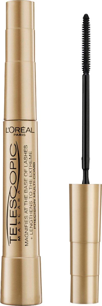 L'Or al Paris Telescopic Mascara - Zwart
