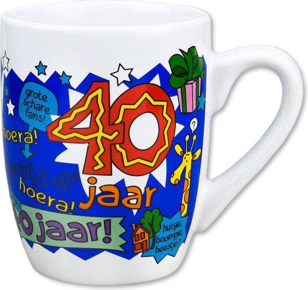 Paperdreams - Cartoonmok - cadeau man 40 Jaar