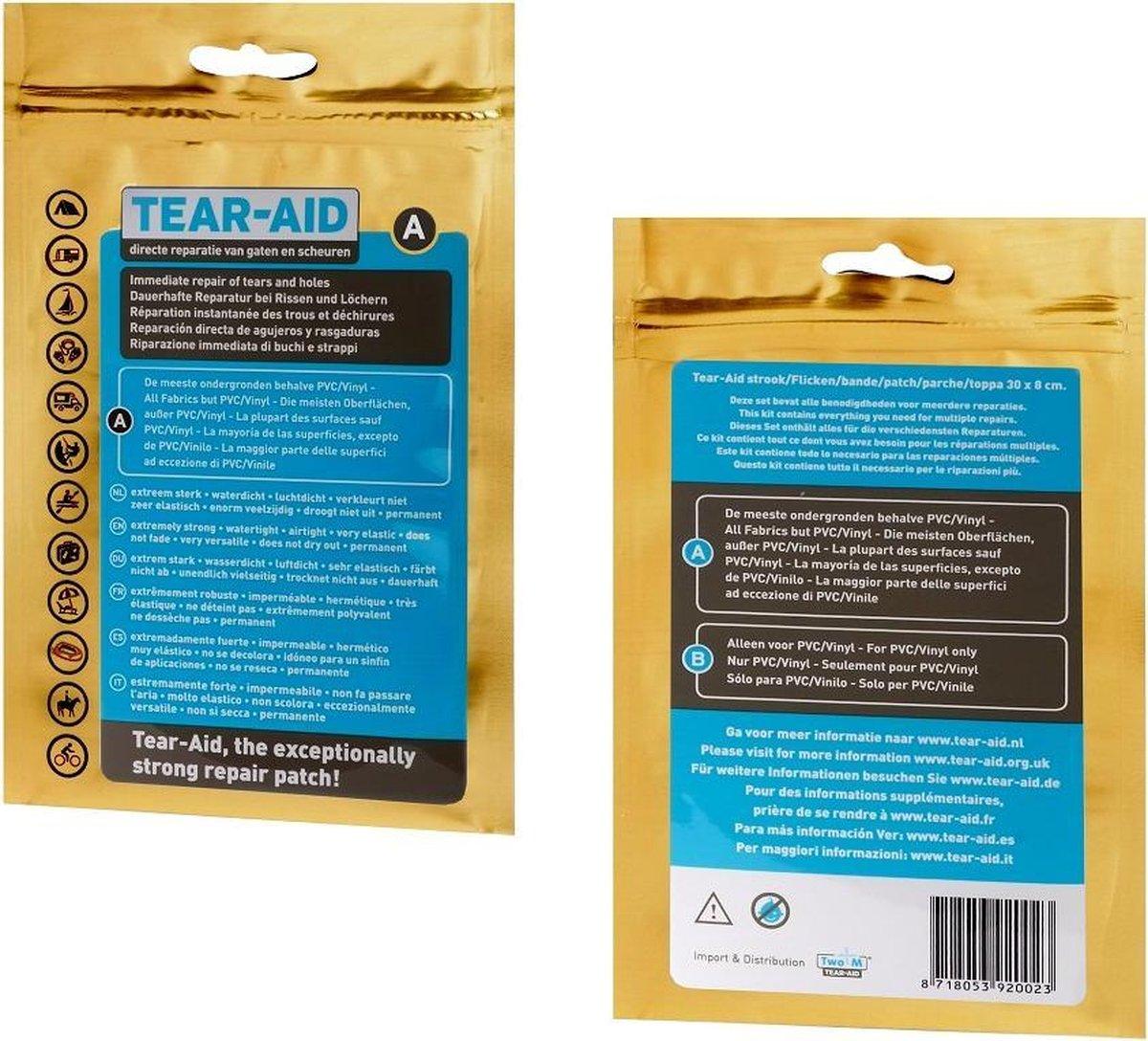 Tear-Aid - Reparatiemiddel - Type A  standaard set