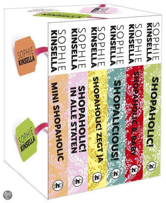 Shopaholic box met 6 delen