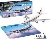Revell 05686 Boeing 747-100, 50th Anniversary Aircraft assembly kit 1:144