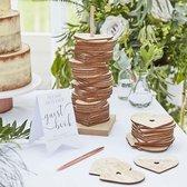 Alternatief Gastenboek Hartjes Botanical Wedding Ginger Ray