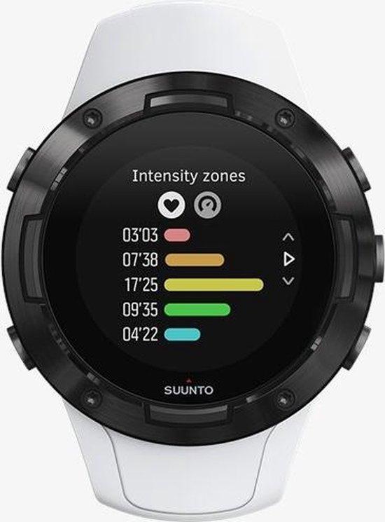 Suunto 5 sport horloge Touchscreen Bluetooth 218 x 218 Pixels Zwart, Wit