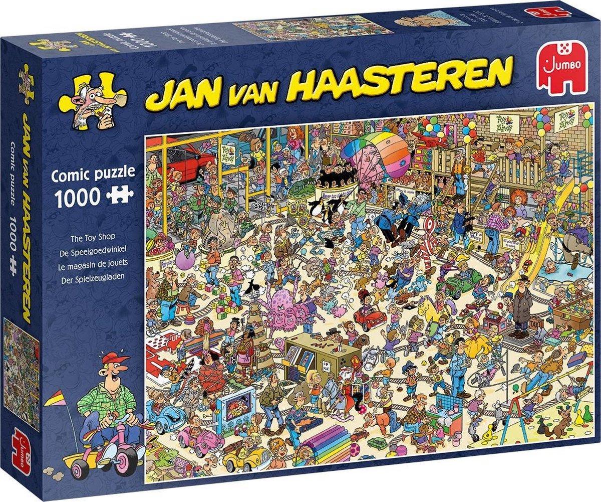 Jan van Haasteren De Speelgoedwinkel puzzel - 1000 stukjes