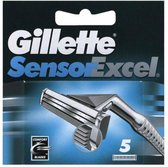 Gillette Sensor Excel - 5 Scheermesjes