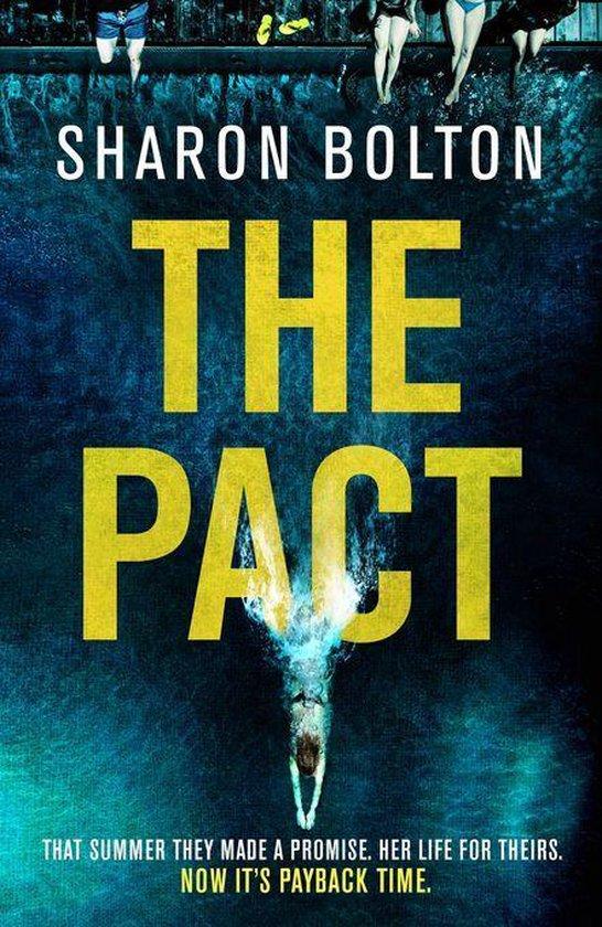 Boek cover The Pact van Sharon Bolton (Onbekend)