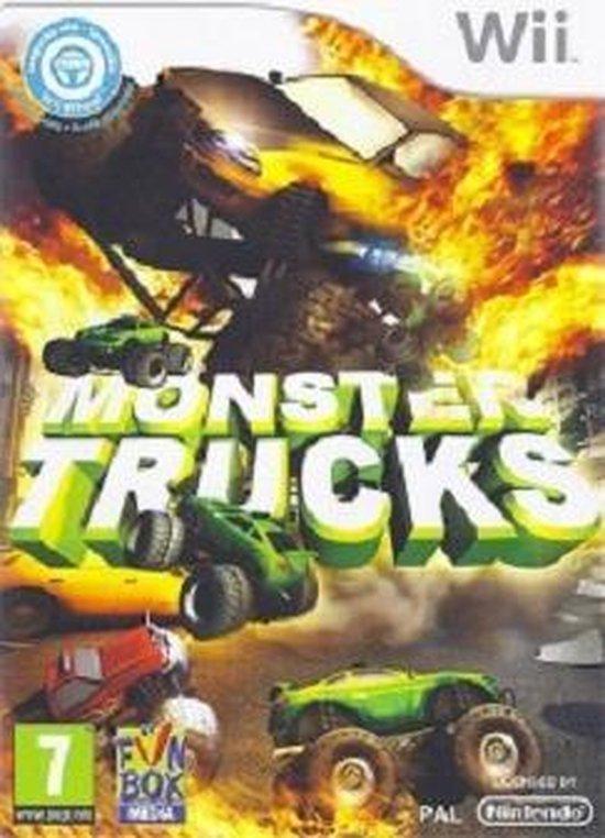 Monster trucks: ultra mega xtreme wii