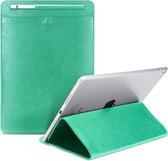 Let op type!! Universele Case Sleeve tas voor iPad 2/3/4/iPad Air/Air 2/Mini 1/mini 2/Mini 3/Mini 4/Pro 9 7/Pro 10 5  met potlood geval & houder (groen)