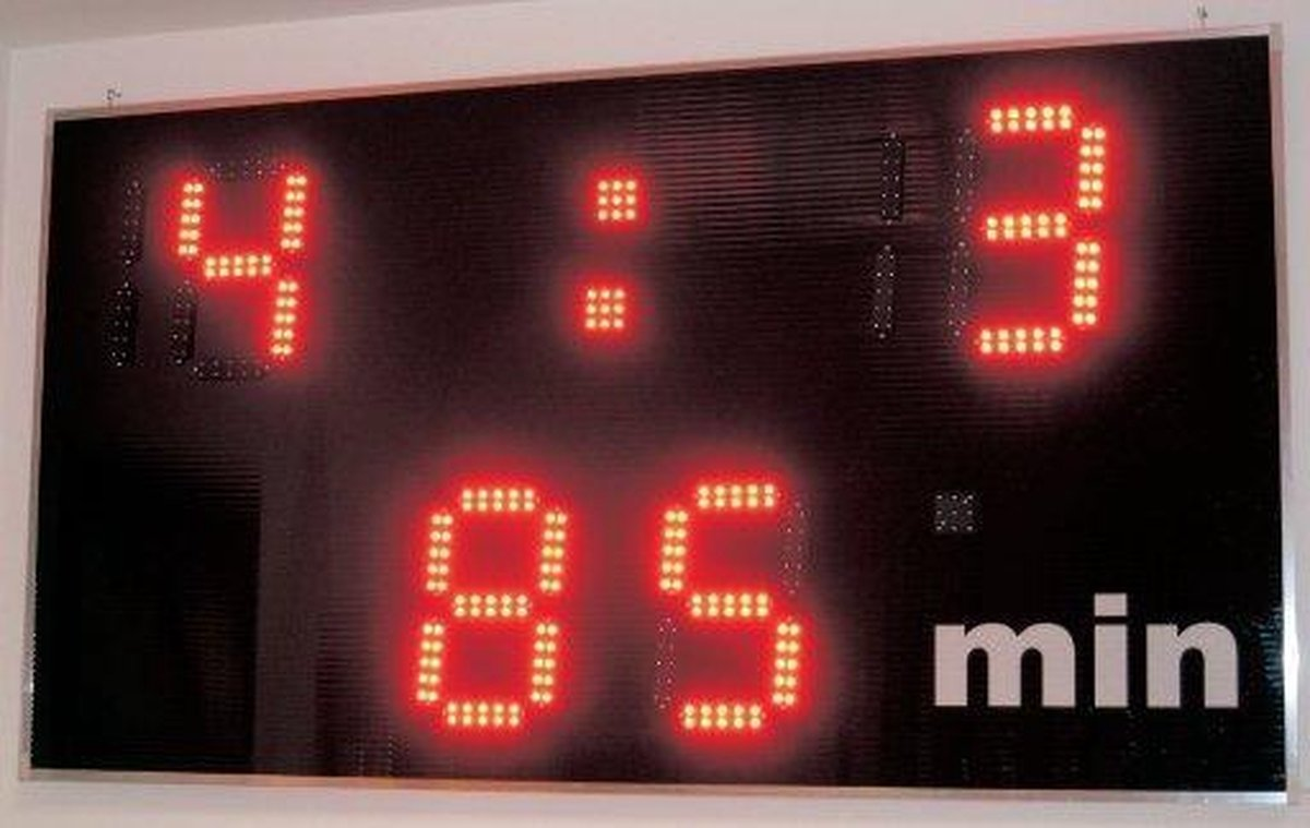 Taktisport Led elektronisch - Scorebord - Voetbal - Digitaal - 6 KG