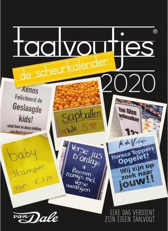 Afbeelding van Taalvoutjes Scheurkalender 2020