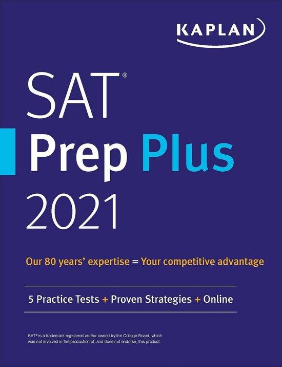 Boek cover SAT Prep Plus 2021 van Kaplan Test Prep (Onbekend)