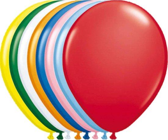 Ballonnen gemengde kleuren - 100 stuks