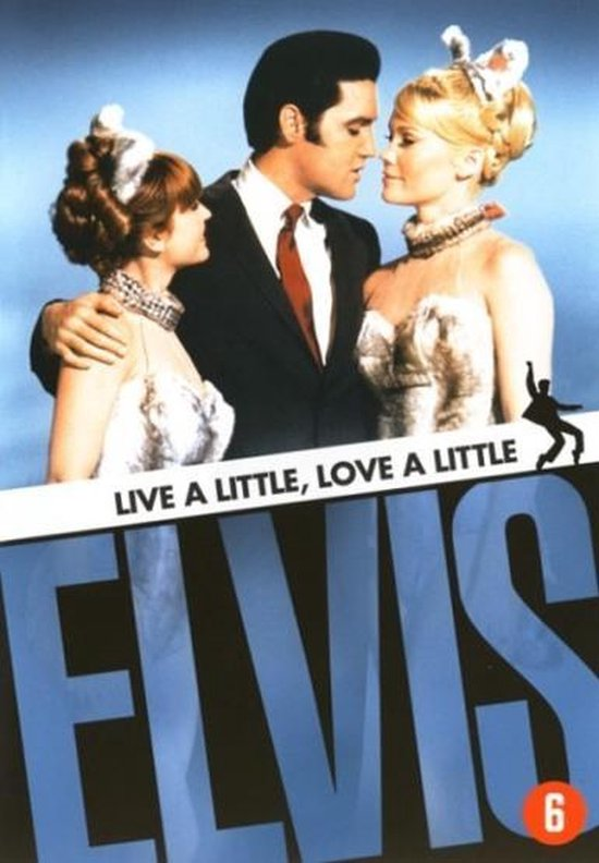 Cover van de film 'Elvis Presley - Live A Little Love A Little'