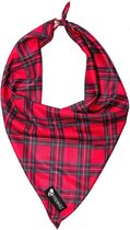 Frenkiez Bandana BarkBerry Red,Large