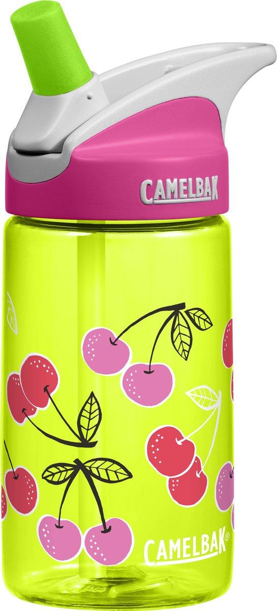 CamelBak Eddy Kids - Drinkfles - 400 ML - Groen (Cherries) -